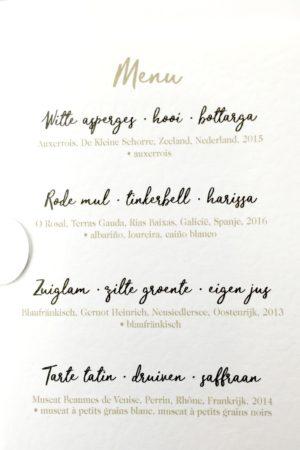 LEEM WONEN restaurant Tante Kee menu