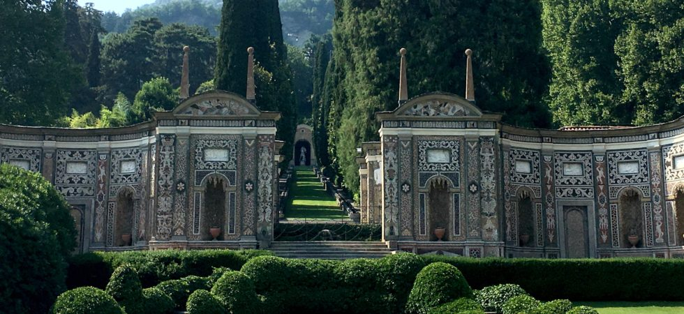 LEEM WONEN Villa d'Este mosaic wall