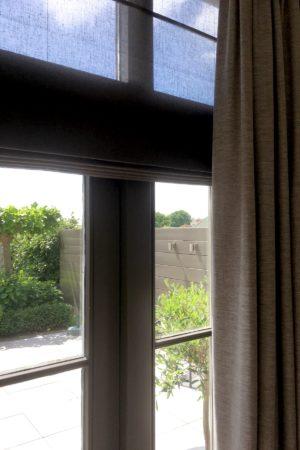 LEEM WONEN binnenkijken Inside Blinds raamdecoratie tuindeuren