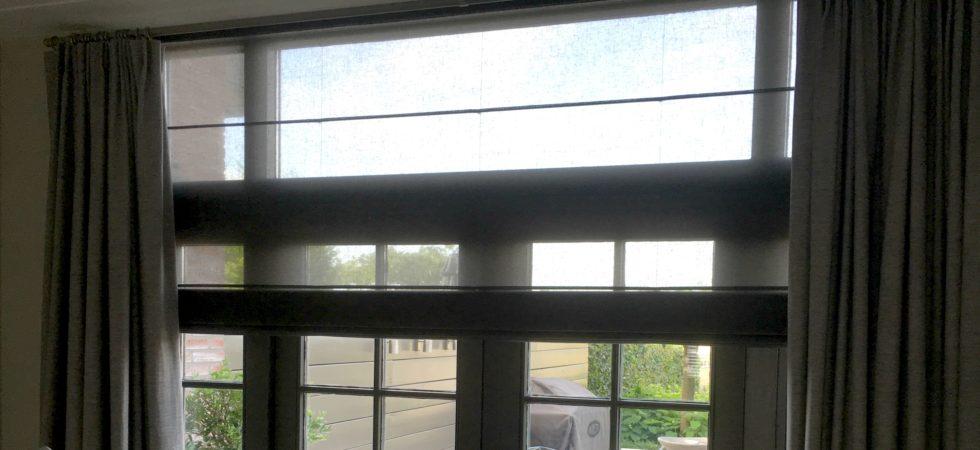 LEEM WONEN binnenkijken Inside Blinds raamdecoratie vouwgordijnen