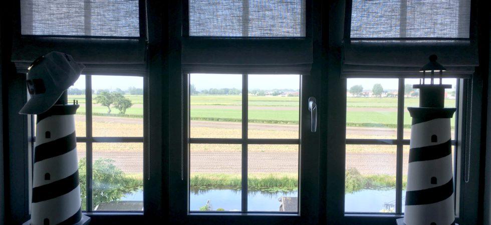 LEEM WONEN binnenkijken Inside Blinds raamdecoratie zolder