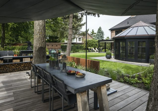 LEEM WONEN Herenhuis Hoek van Holland tuin