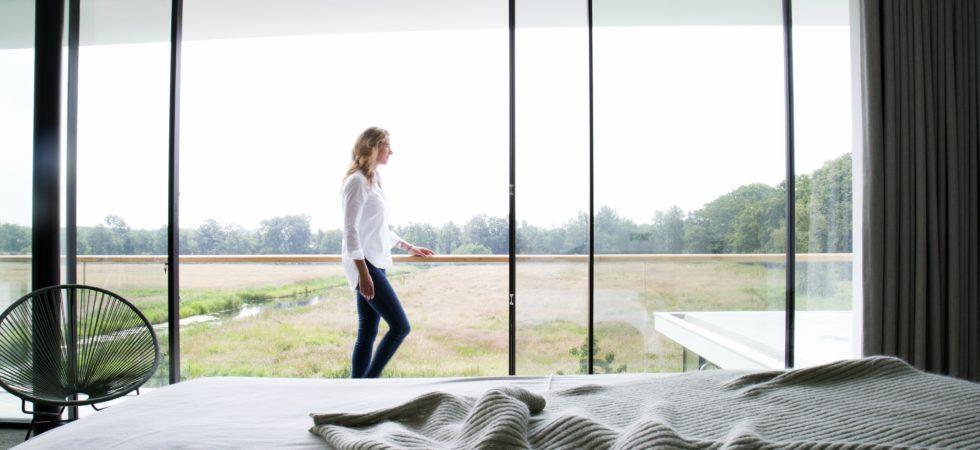 LEEM WONEN Van Egmond architecten bedroom