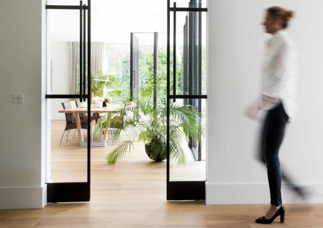 LEEM WONEN Van Egmond architecten steel doors