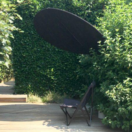 LEEM WONEN showroom Paola Lenti garden black shade