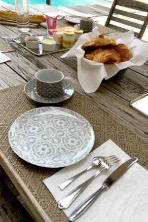 LEEM WONEN Vakantie 2017 Chateau St Vincent breakfast