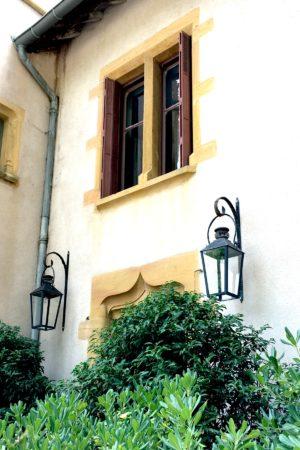 LEEM WONEN Vakantie 2017 Chateau St Vincent front door