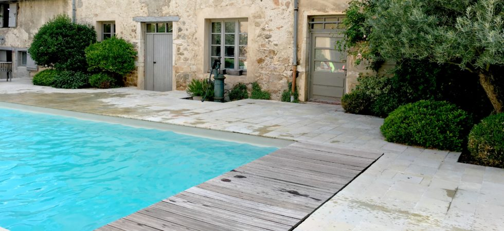 LEEM WONEN Vakantie 2017 Chateau St Vincent pool terrace