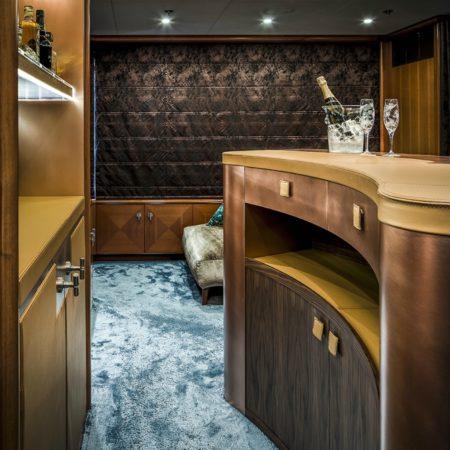 LEEM WONEN Versteegh Design Jacht bar