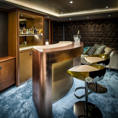 LEEM WONEN Versteegh Design Jacht bar stools
