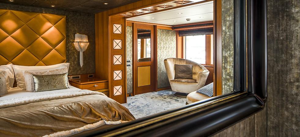 LEEM WONEN Versteegh Design Jacht bedroom