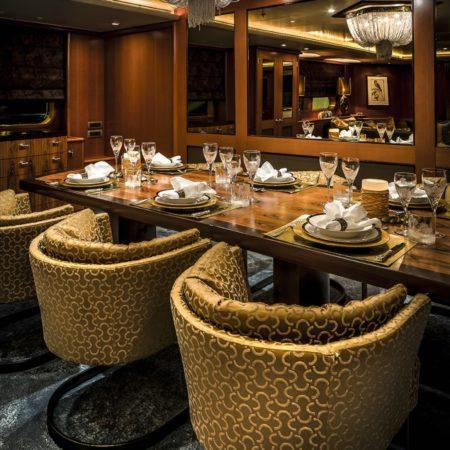 LEEM WONEN Versteegh Design Jacht dining
