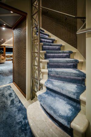 LEEM WONEN Versteegh Design Jacht stairs