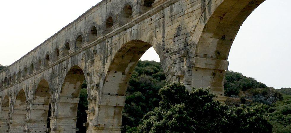 LEEM WONEN Zuid Frankrijk Pont du Gard architecture