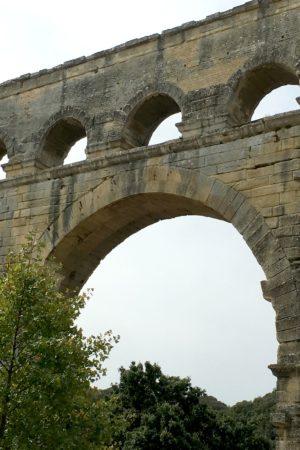 LEEM WONEN Zuid Frankrijk Pont du Gard sky
