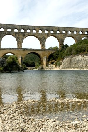 LEEM WONEN Zuid Frankrijk Pont du Gard water