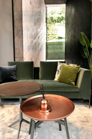 LEEM WONEN Edha Interieur B&B Italia copper
