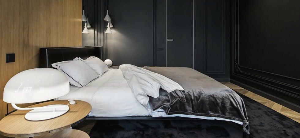 LEEM WONEN Yodezeen appartement Moscow bedroom