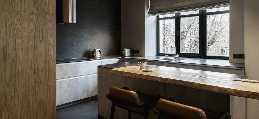 LEEM WONEN Yodezeen appartement Moscow kitchen