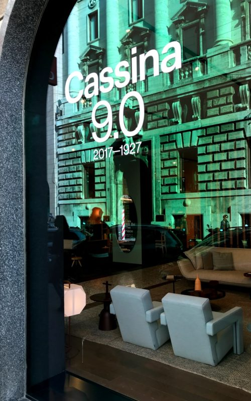 LEEM WONEN Cassina Office Wannahaves showroom