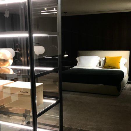 LEEM WONEN Flagshipstore Molteni bedroom
