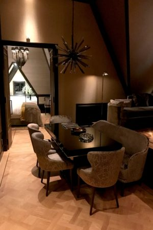 LEEM WONEN Hotel TwentySeven suite dining