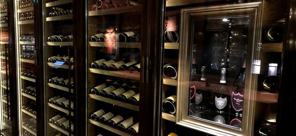 LEEM WONEN Hotel TwentySeven winefridge
