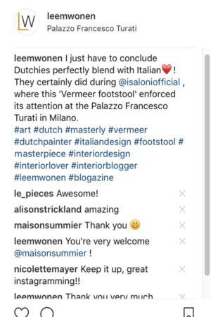 LEEM WONEN Maison Summier Instagram
