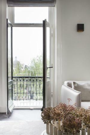 LEEM WONEN Remy Meijers Penthouse aan de Gracht balkon