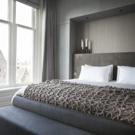 LEEM WONEN Remy Meijers Penthouse aan de Gracht bed