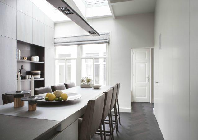 LEEM WONEN Remy Meijers Penthouse aan de Gracht keuken