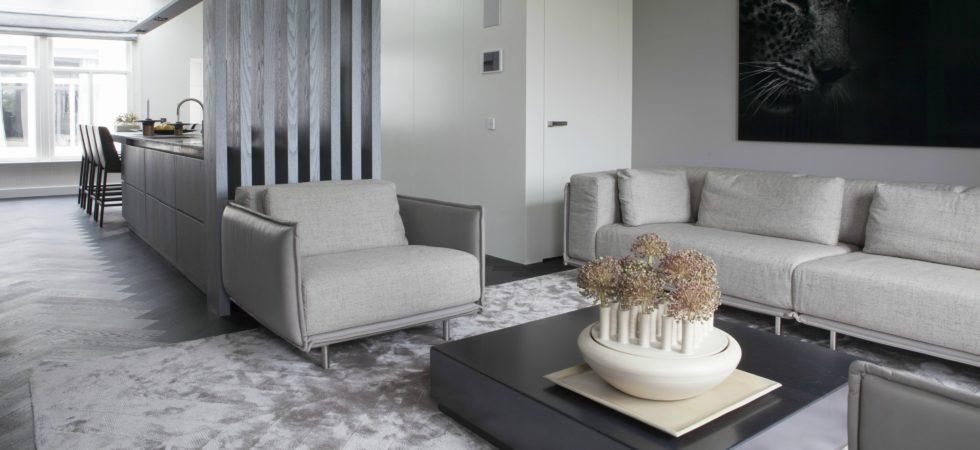 LEEM WONEN Remy Meijers Penthouse aan de Gracht roomdivider
