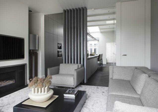 LEEM WONEN Remy Meijers Penthouse aan de Gracht woonkamer