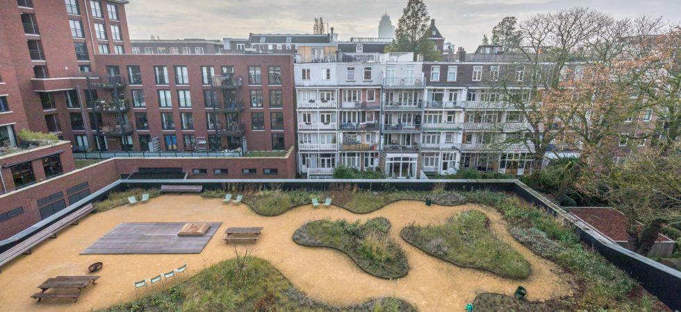 LEEM WONEN lofts Amsterdam rooftop garden
