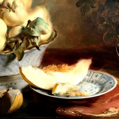 LEEM WONEN Kunst & Antiek weekend Delfts Blauw bord