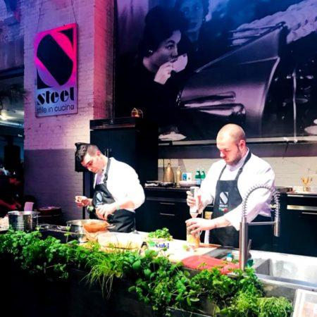 LEEM WONEN Little Italy Steel chefs