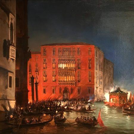 LEEM WONEN Tefaf Venetië night