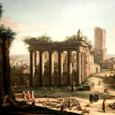 LEEM WONEN Tefaf Venetië ruïne