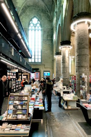 LEEM WONEN Maastricht bookstore Dominicanen ground floor