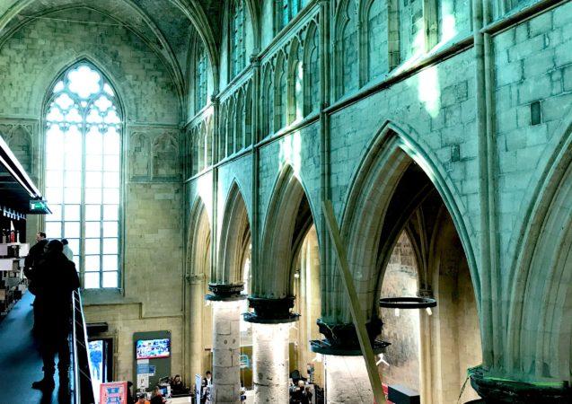 LEEM WONEN Maastricht bookstore Dominicanen third floor