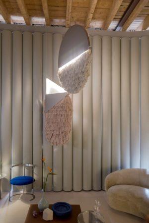 LEEM WONEN Salone del Mobile Club Unseen Studiopepe Talisman wallhanging