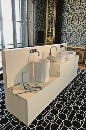 LEEM WONEN Salone del Mobile Masterly Hotel bathroom