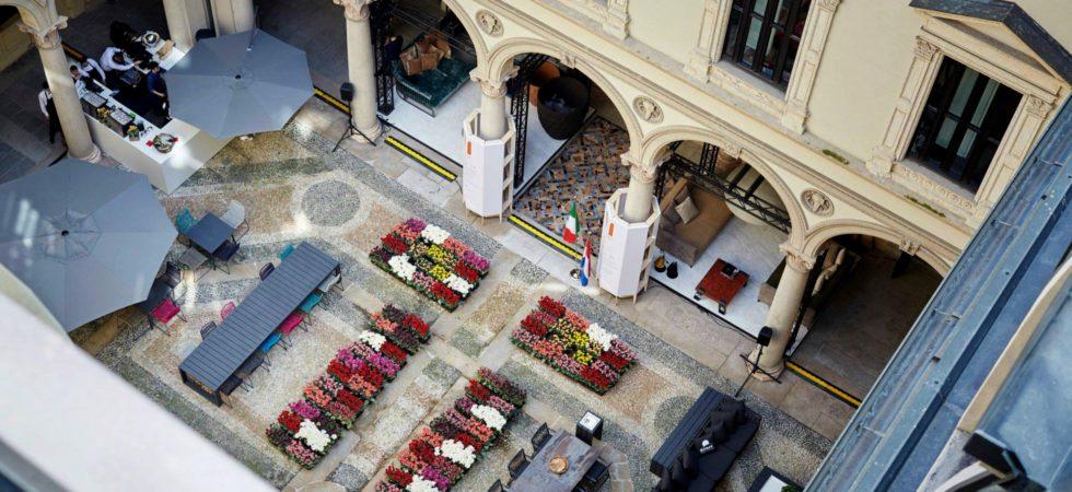 LEEM WONEN Salone del Mobile Masterly patio