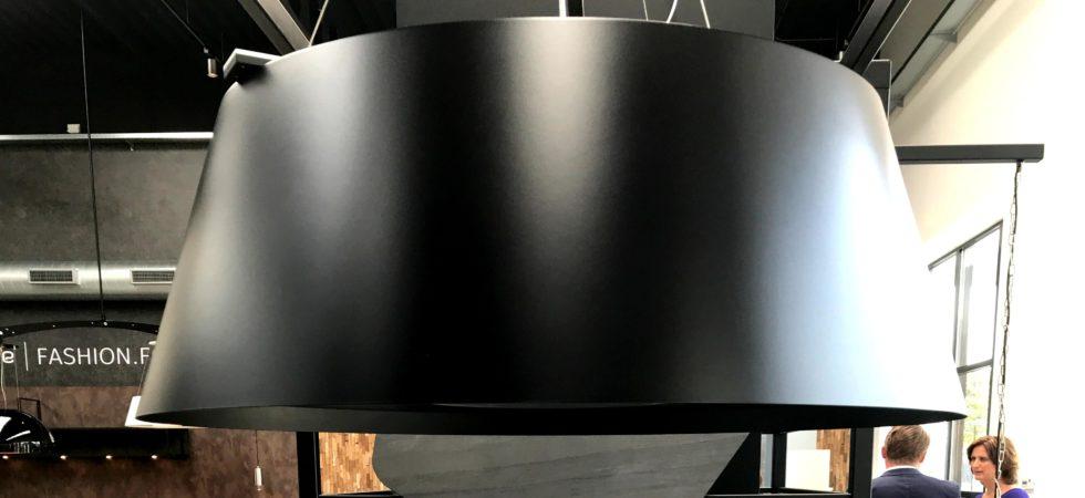 LEEM WONEN Wave Dekker Trend Centre zwart op zwart