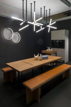 LEEM WONEN Design District 2018 Bulthaup table