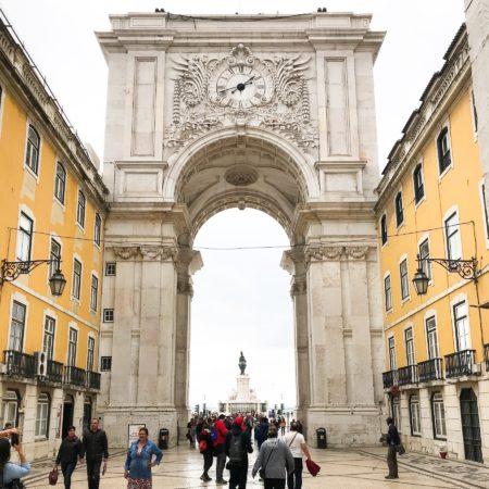 LEEM WONEN Lissabon Arco da Augusta
