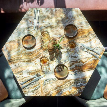 LEEM WONEN Studio Piet Boon Hex Hexagon Table