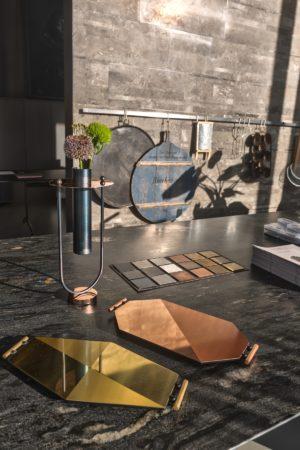 LEEM WONEN Boffi Mingardo vase and trays
