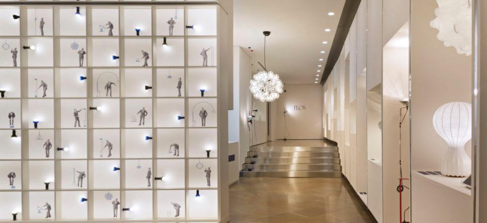 LEEM WONEN Flinders Flos showroom Milan
