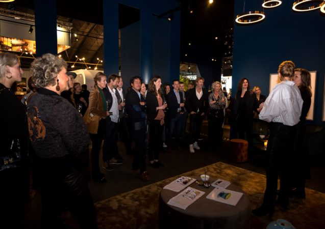 LEEM WONEN Masters of LXRY Tussen Kunst en Cocktails gasten